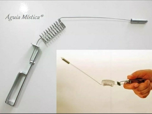 aurameter /aurímetro em metal cromado radiestesia