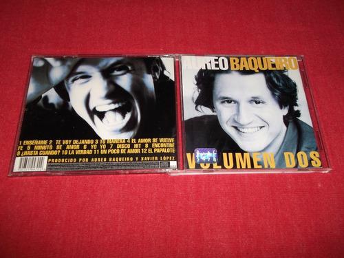 aureo baqueiro - volumen dos cd nac ed 1997 super raro mdisk