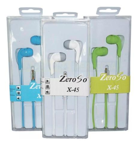 auricular 3.5mm manos libres zero x-45 wtel4149 - tecsys