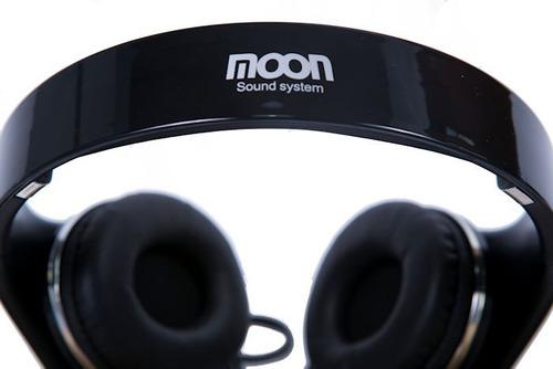 auricular alambrico moon con cable ma2330b negro