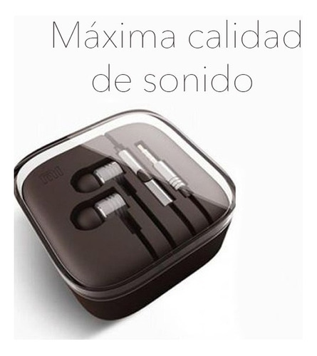 auricular aluminio piston manos libres iphone / android