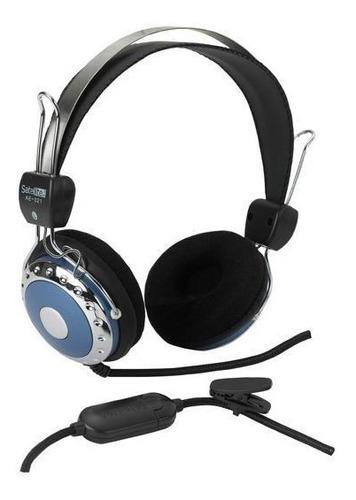 auricular audífono satellite con microfono grande nuevos !!!