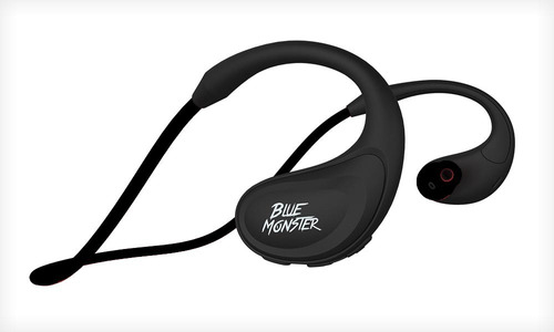 auricular blue monster bluetooth bth200 con micrófono