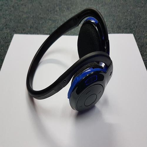 auricular bluetooth bh-503 m. libres + fm + 8gb + cargador