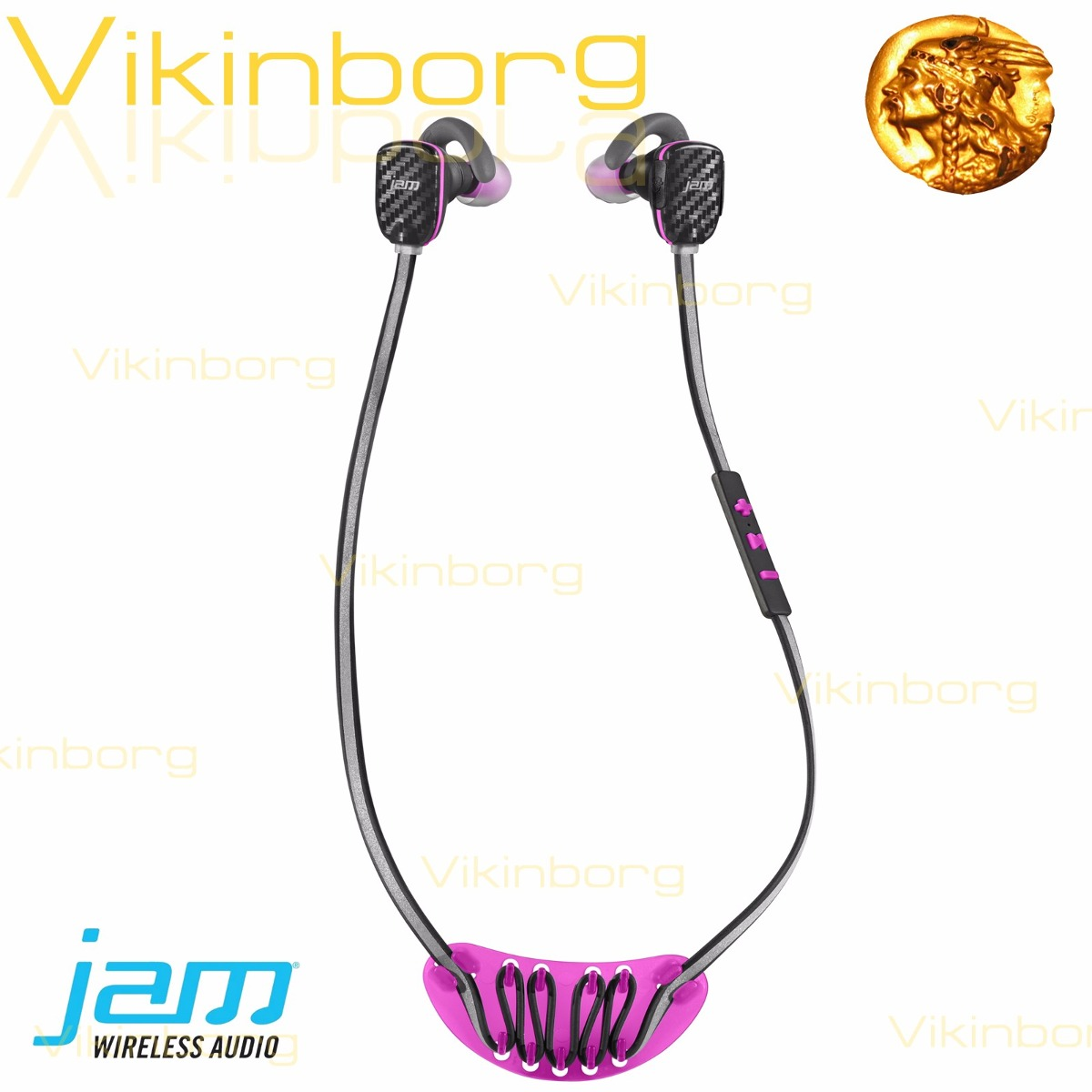d9ba69bff0d Auricular Bluetooth Deportivo Jam Micro Sport Rosa + Botella - $ 899 ...