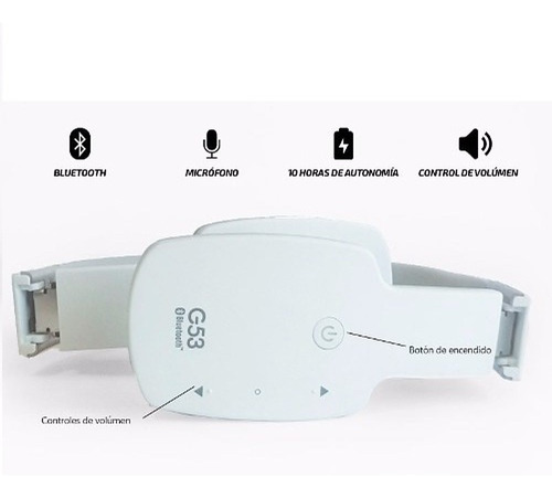 auricular bluetooth headset g53 ag-h15 celular tablet tv