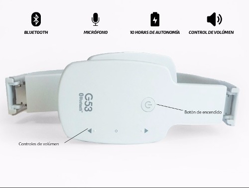 auricular bluetooth headset g53 ag-h15 celular tablet tv