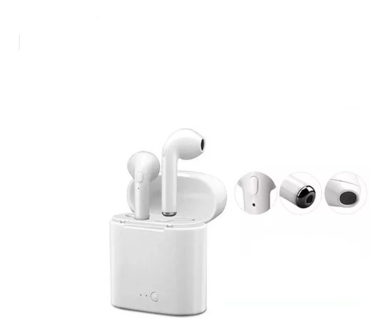 3894adb344b Auricular Bluetooth I7 Tws In Ear Pods Estilo AirPods Mic Om - $ 690 ...