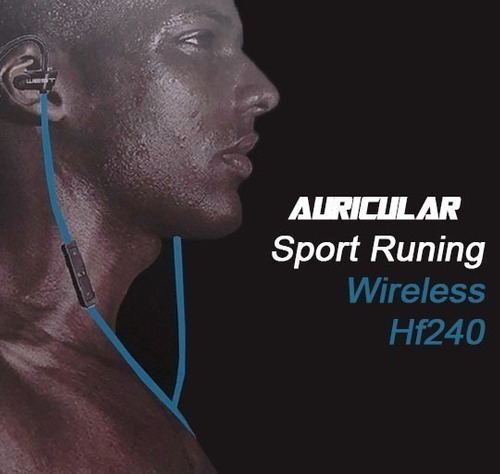 auricular bluetooth inalambrico deportivo running microfono estereo manos libres