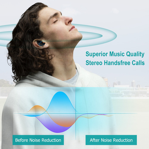 auricular bluetooth manos libres con micrófono portátil pl