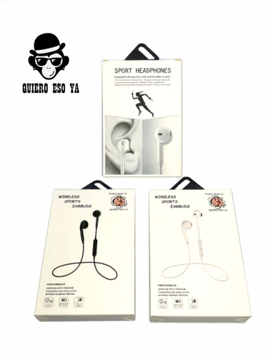 auricular bluetooth mic inalambrico sport earbuds sony nokia