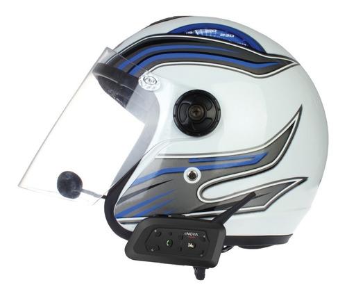 auricular bluetooth moto mano libre enova motochat - cuotas