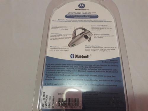 auricular bluetooth motorola hs805