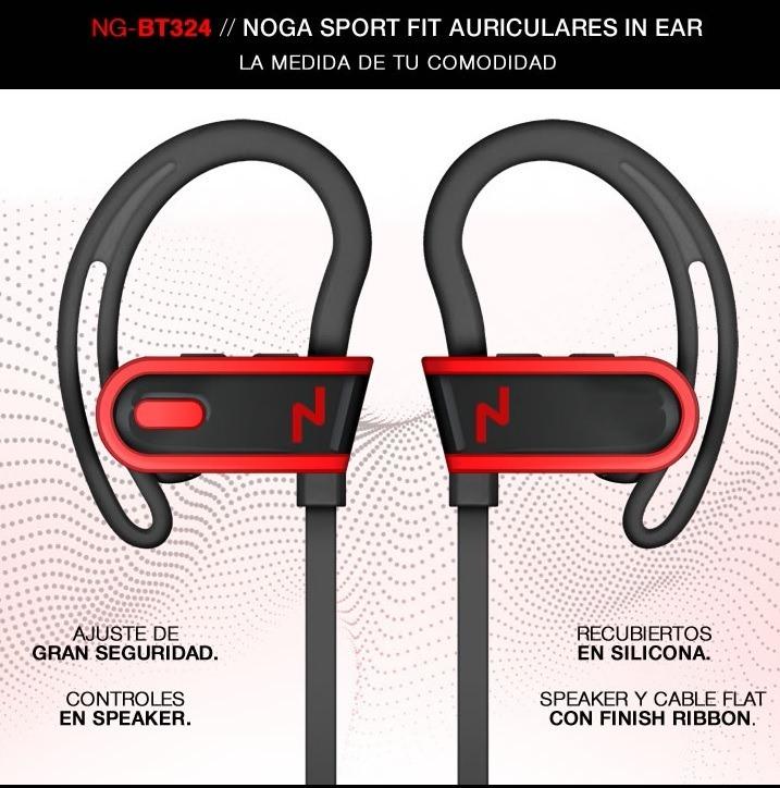 d6b75a0c756 Auricular Bluetooth Noganet Deportivo Para Correr Ng-bt324 - $ 460 ...