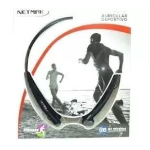 auricular bluetooth sport netmak nr-e25