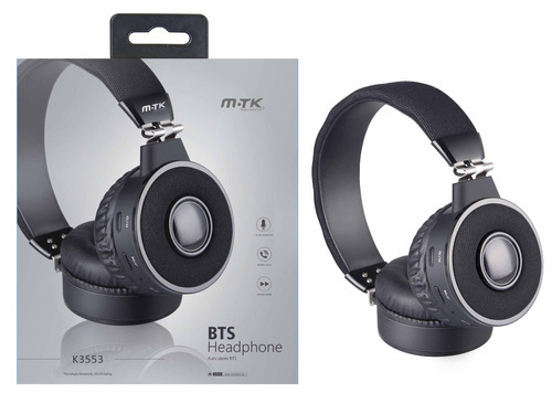 auricular bluetooth vincha headphone mtk k3553