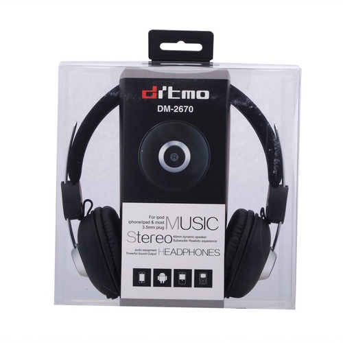 auricular cable dm-2670 para iphone 6 plus samsung galaxy