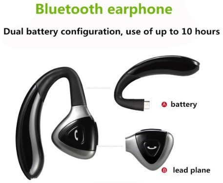 auricular con enganche de oreja bluetooth inalambrico oferta