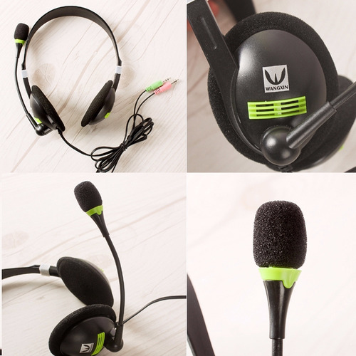 auricular con microfono gamer stereo pc a520mv