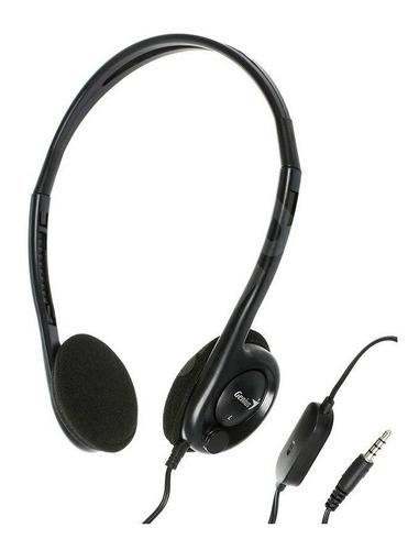 auricular con microfono genius hs-m200c notebook pc celular