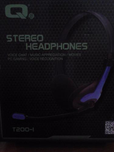 auricular con microfono para pc o notebook