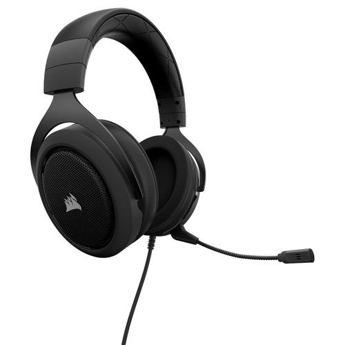 auricular corsair hs50 gaming green wired 3.5 venex