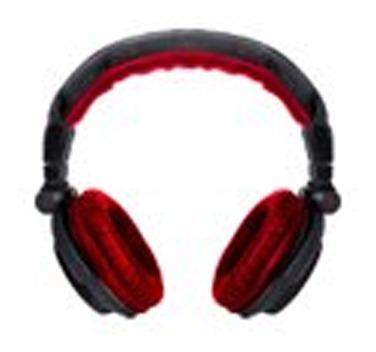 auricular dj pro sl1017r negro rojo - las piedras