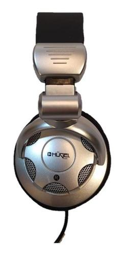 auricular dj y monitoreo hugel dch-4001