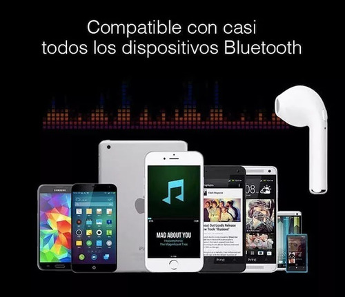 auricular doble bluetooth i7s tws airpods iphone 7 8 plus x