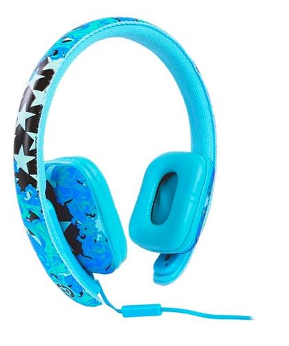 auricular ear party ch!c buds c/microfono azul