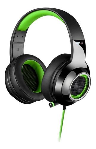 auricular edifier g4 verde ideal para gamers !!