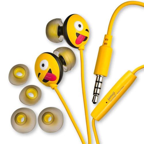 auricular emoji varios motivos 3.5mm