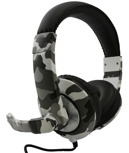auricular gamer headse micrófono camuflado ps4 xbox pc#
