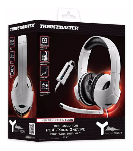 auricular gamer headset thrustmaster pc xbox ps4 ps3