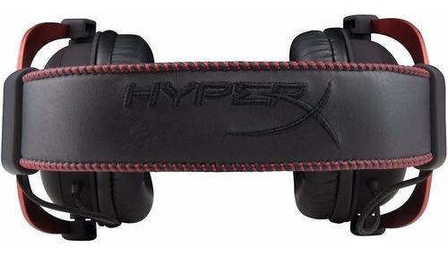 auricular gamer hyperx cloud 2 cuero mini plug 3.5 pc ps4