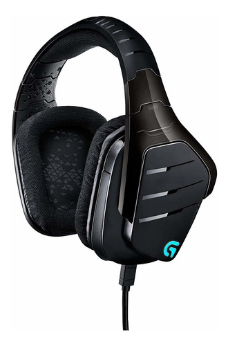 auricular gamer logitech g633 artemis spectrum pc/ps4/xbox