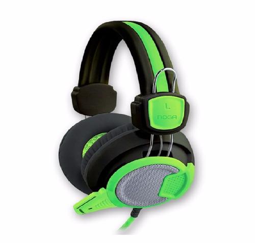 auricular gamer noga st-v1 neon c/mic headset tienda oficial