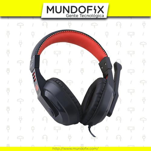 auricular gamer pc headset redragon h101 garuda noga 3.5mm