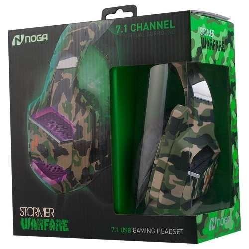 auricular gamer ps4 pc con microfono warfare garantía