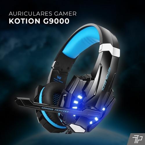 auricular gamer ps4 - pc microfono usb juegos headset