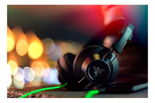 auricular gamer razer adaro stereos