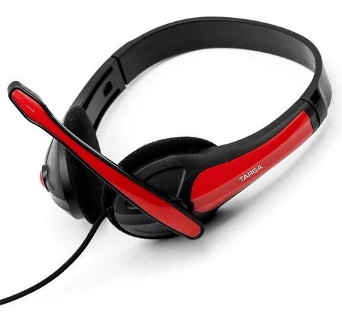 auricular gamer streaming con microfono unidireccional targa