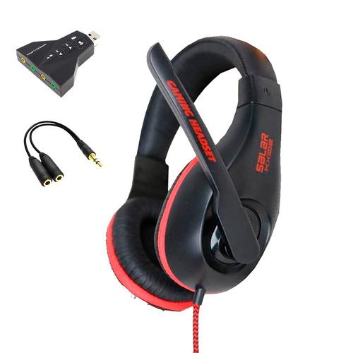 auricular gamer x-shark kx102 - usb (celulares y pc)