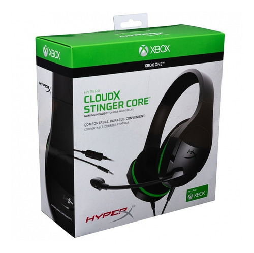 auricular gaming hyperx cloudx stinger core para xbox one