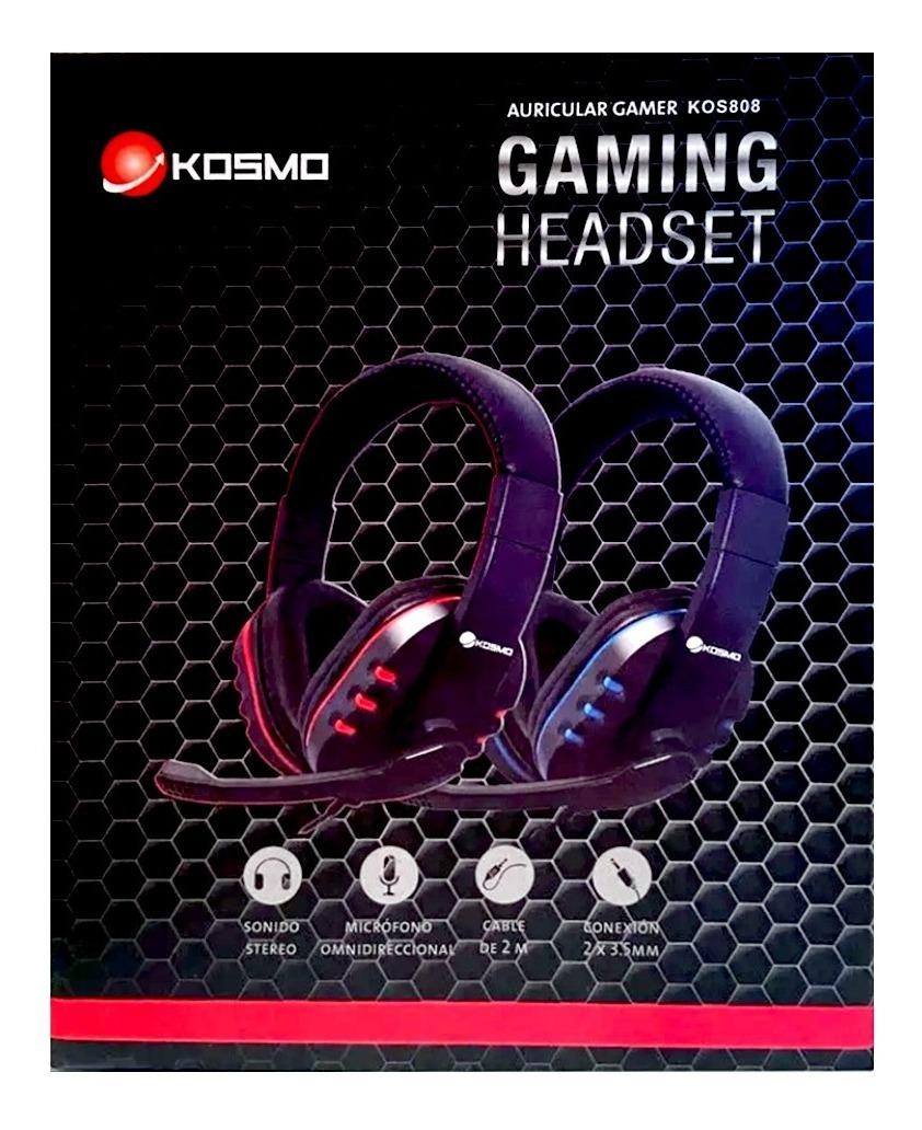 Auricular Headset Gaming, C/micrófono Juegos Pc , Ps4