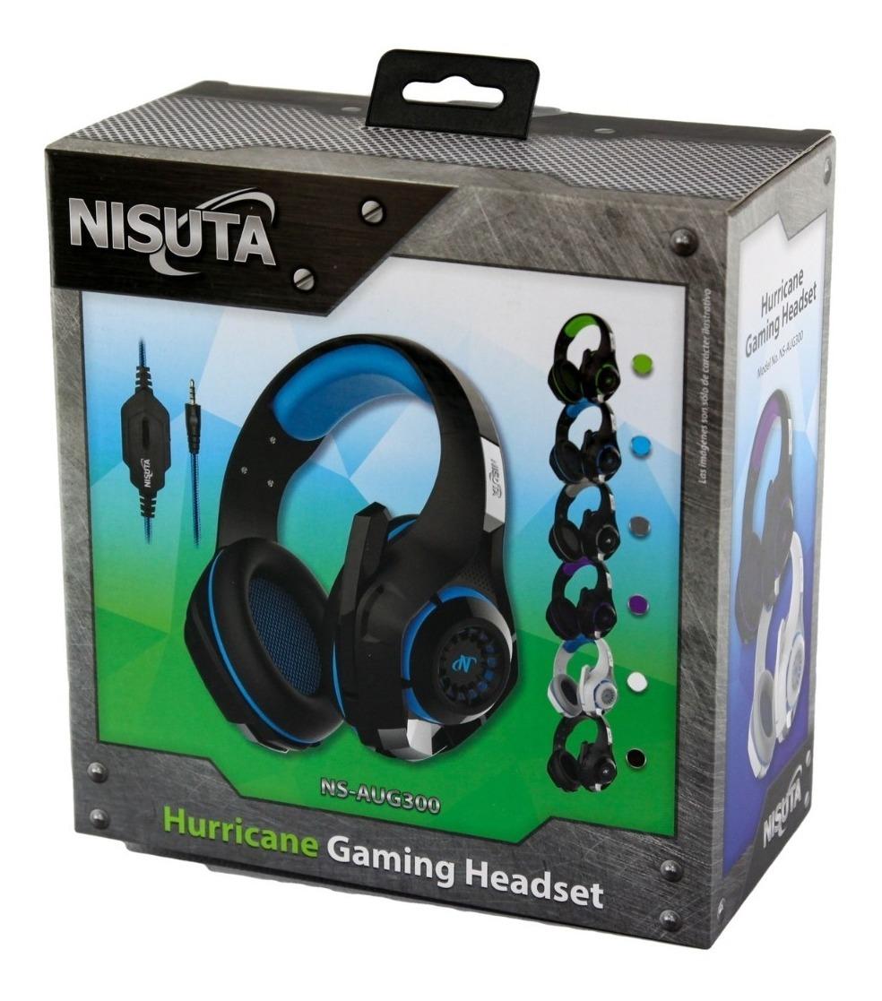 Auricular Con Microfono Gamer Hurricane Nsaug300 PC/PS4/TELEFONO