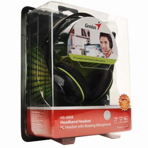 auricular genius con microfono