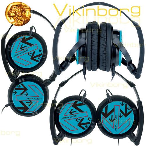 auricular genius plegable ghp 410f funda mp3 ipod vikinborg