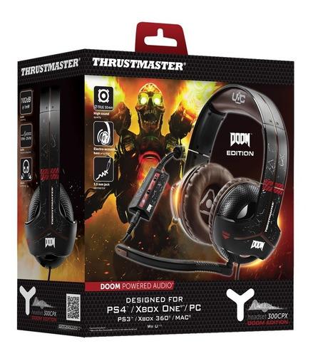 auricular headset gamer pc xbox ps4 ps3 thrustmaster doom
