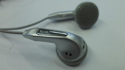 auricular in-ear jwin gris con cable (suelto) e5052